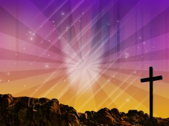 Cross Power Worship Background