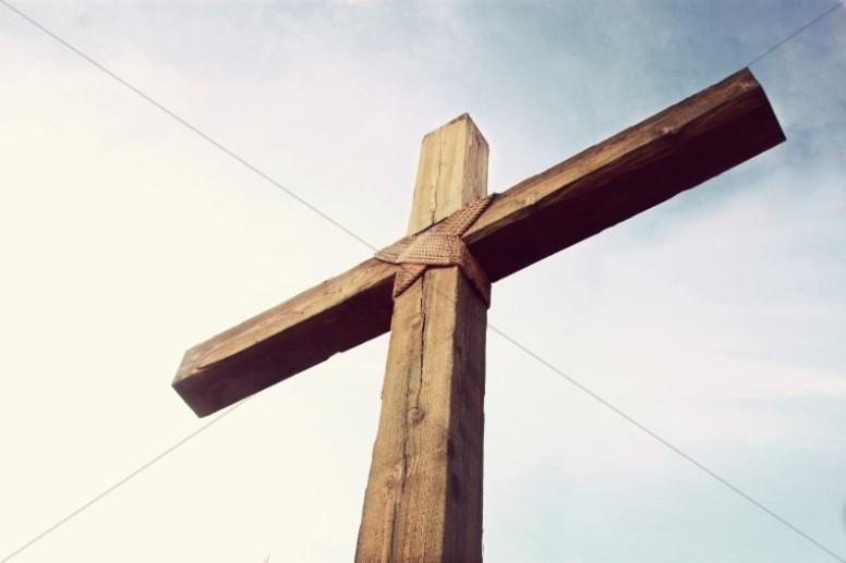 The Cross Religious Stock Photo