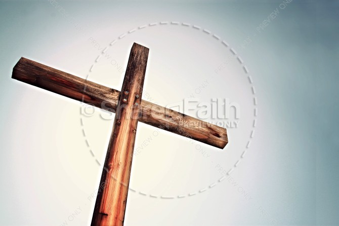 Gospel Cross Stock Photo