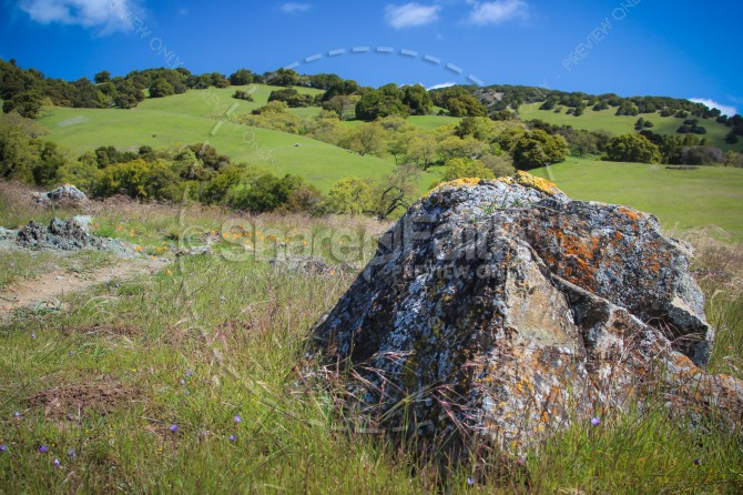 God Our Rock Religious Stock Image