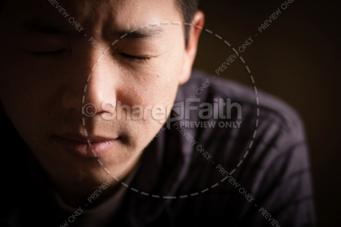 Prayer Religious Stock Image