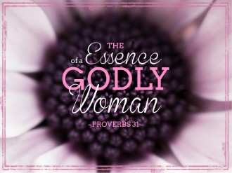 Godly Woman Church PowerPoint