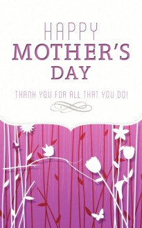 Happy Mother's Day Church Bulletin