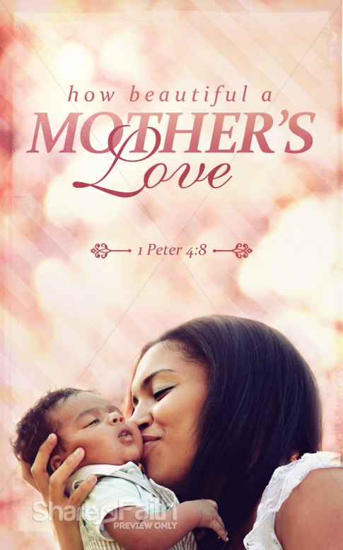 Mother S Love Church Bulletin Mothers Day Bulletin Covers
