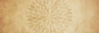 Sepia Petals Website Banner