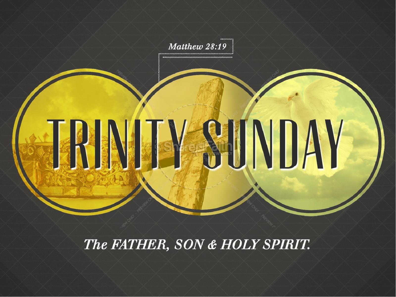 Trinity Sunday PowerPoint