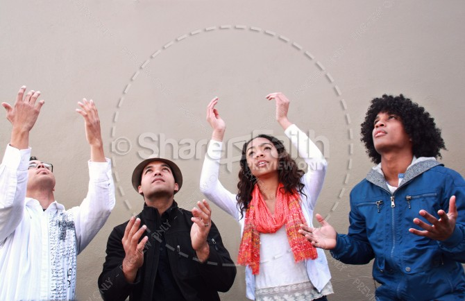 Worshipping Christian Stock Photos