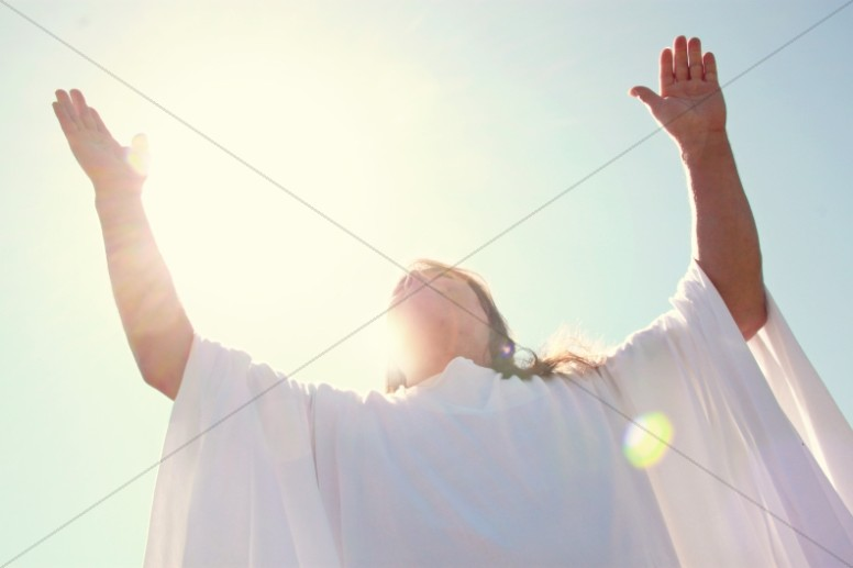 Ascension of Christ Christian Stock Photo