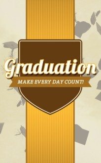 Graduation Program Cover Template Design