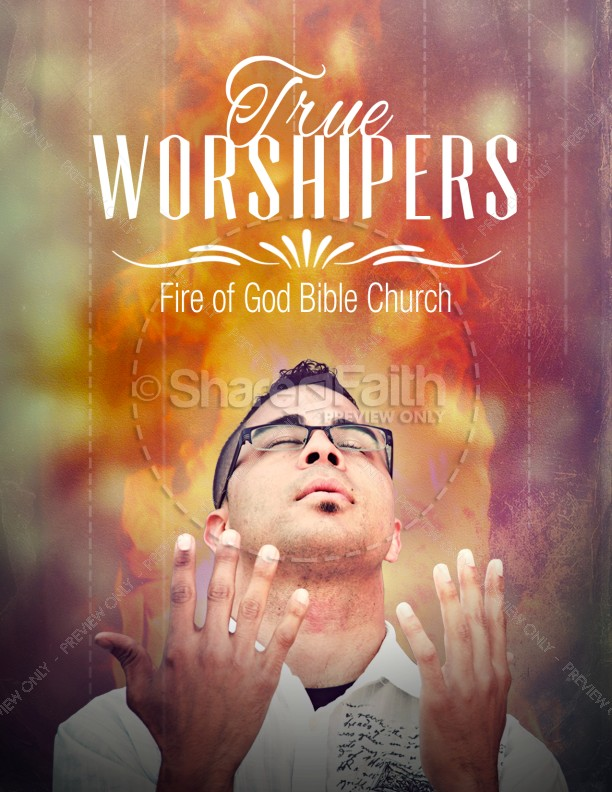 worship conference flyer templates template