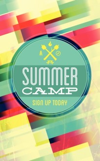 Summer Camp Brochure Template Bulletin