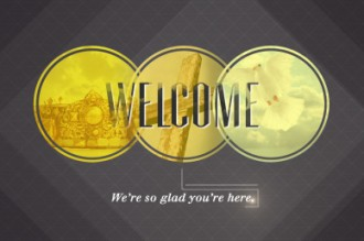 Welcome Church Motion Loops