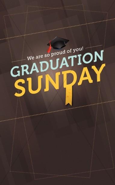 graduation sunday program cover designs