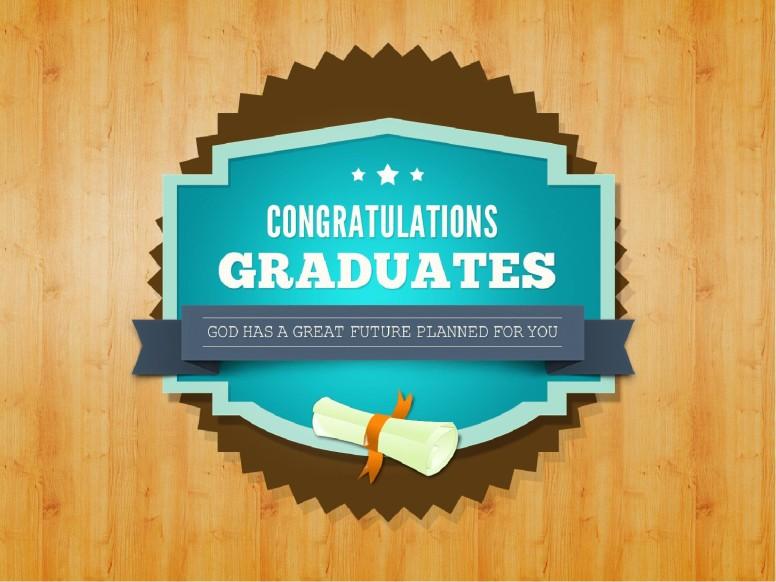 Graduation Slideshow Announcement