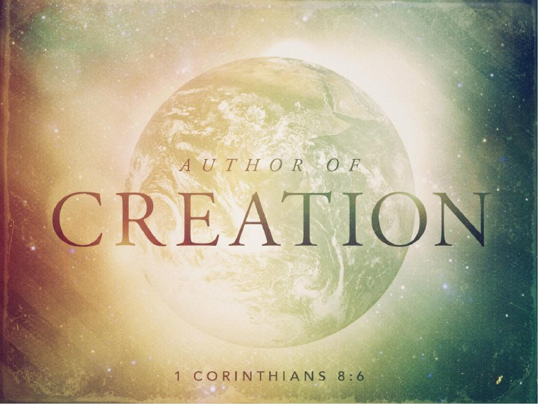 Author of Creation Pastor PowerPoint
