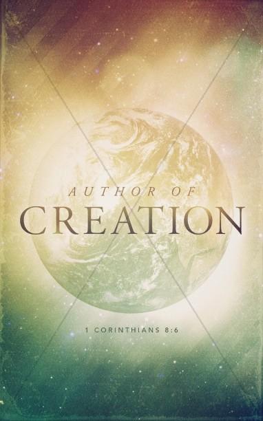 Author of Creation Church Bulletin