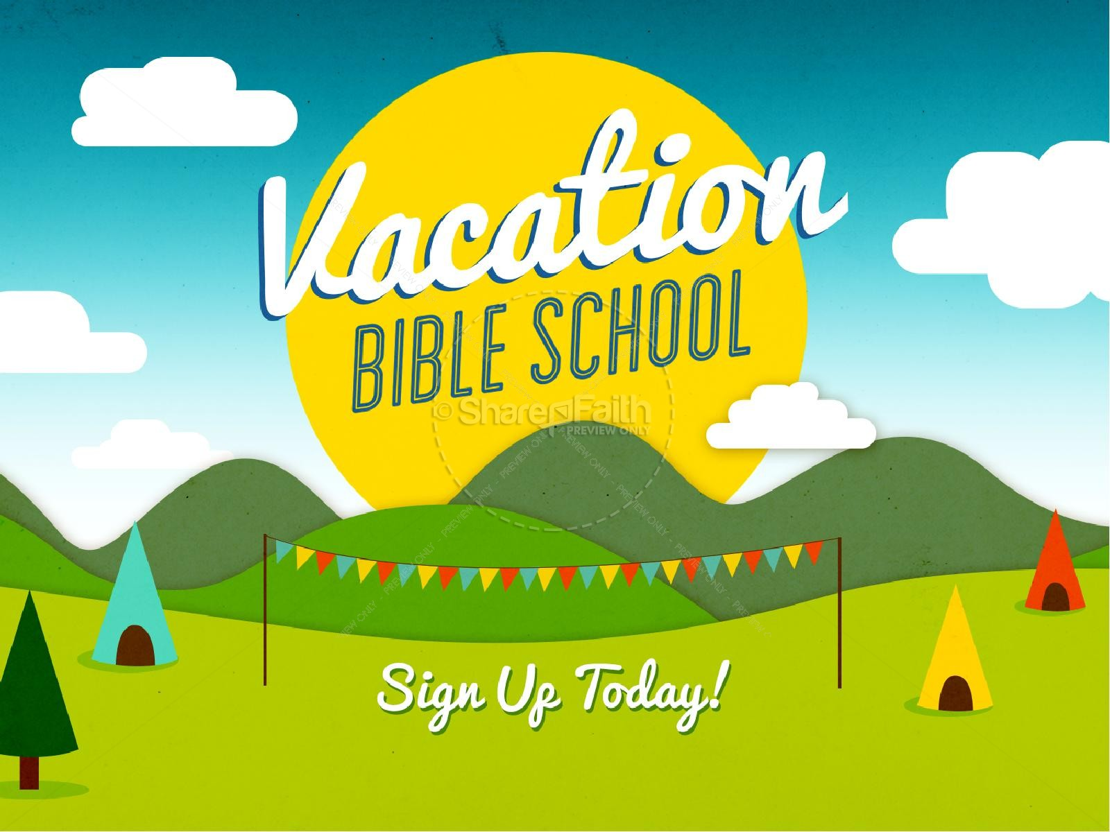 Vacation Bible School PowerPoint Design PowerPoint Sermons