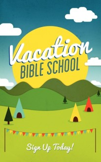 Vacation Bible School Bulletin Design