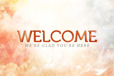 Contemporary Welcome Video Loops for Church