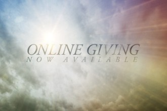Online Giving Now Available Video Loop for Church