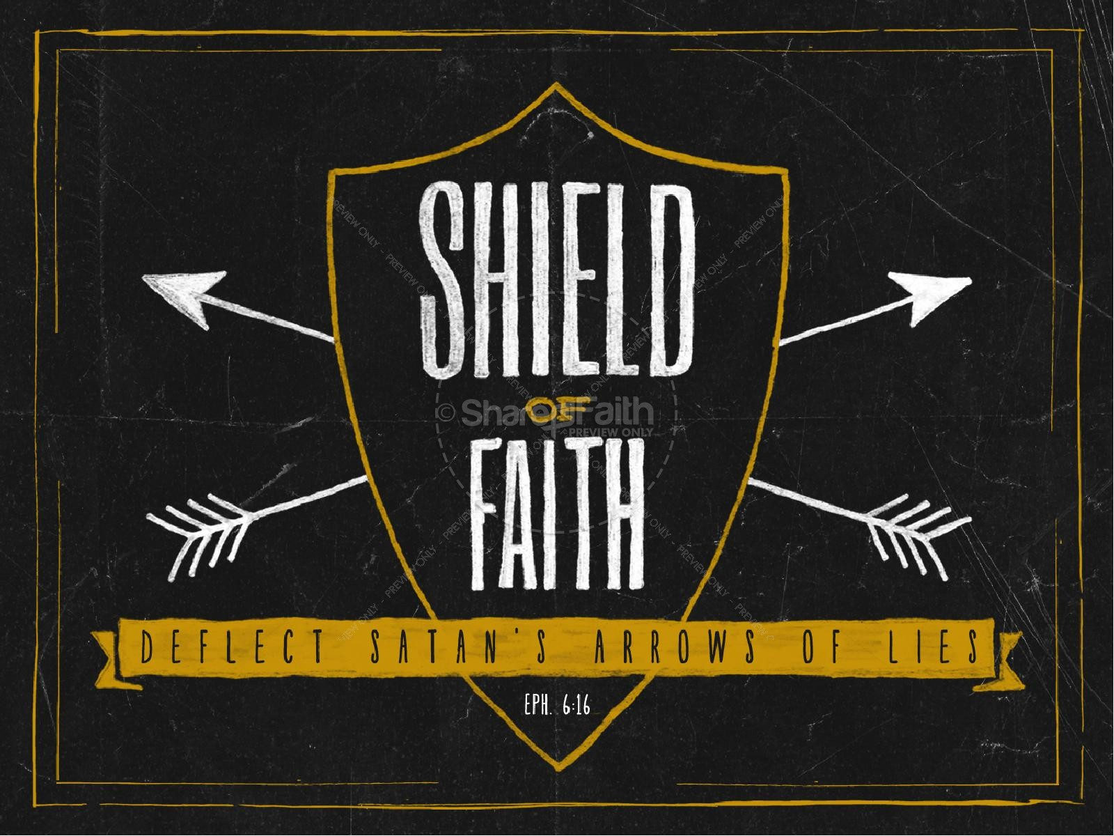 The Shield of Faith Sermon PowerPoint For Church