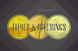 Tithes and Offerings Video Loop