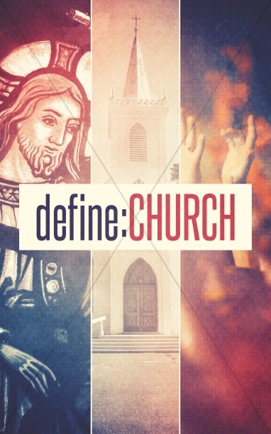 Define Church Bulletin Template