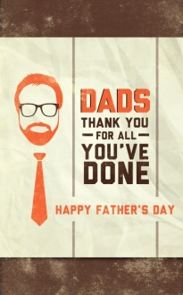 Father's Day Bulletins Poster for Fathers Day