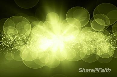 Green Bubble Video Loop Motion Screen Backgroud