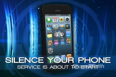 Silence Your Phone Video Announcement for Church