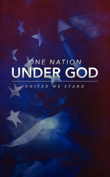 One Nation Under God United We Stand Church Bulletins