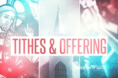Tithes and Offering Video Loop for Churches