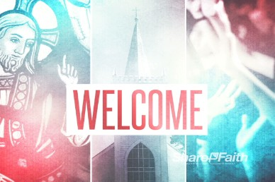 Welcome Animated Video Loop