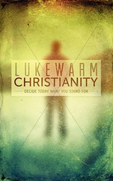 lukewarm christianity bulletin cover post