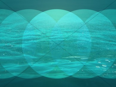 Triple Spotlight on Sea Worship Background