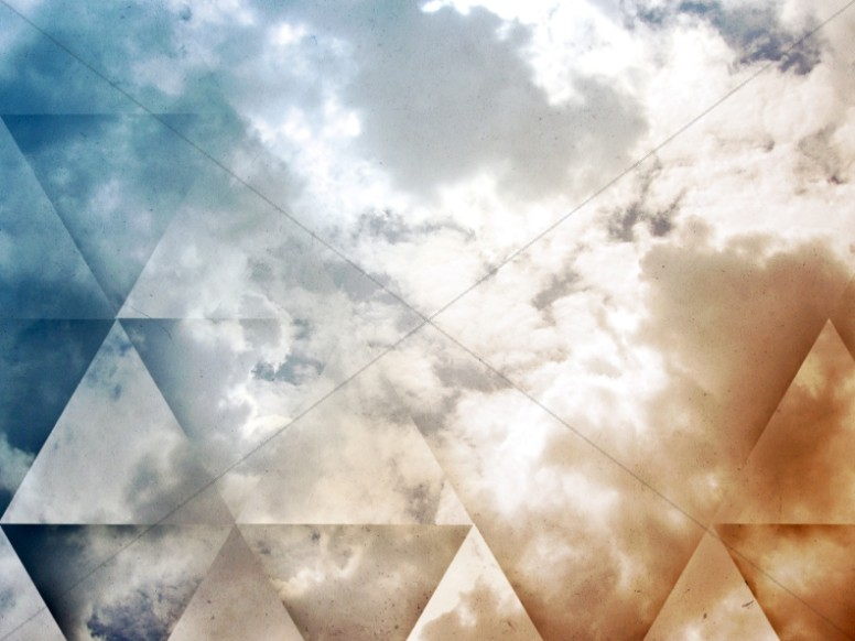 Sand and Sky Triangle Worship Still