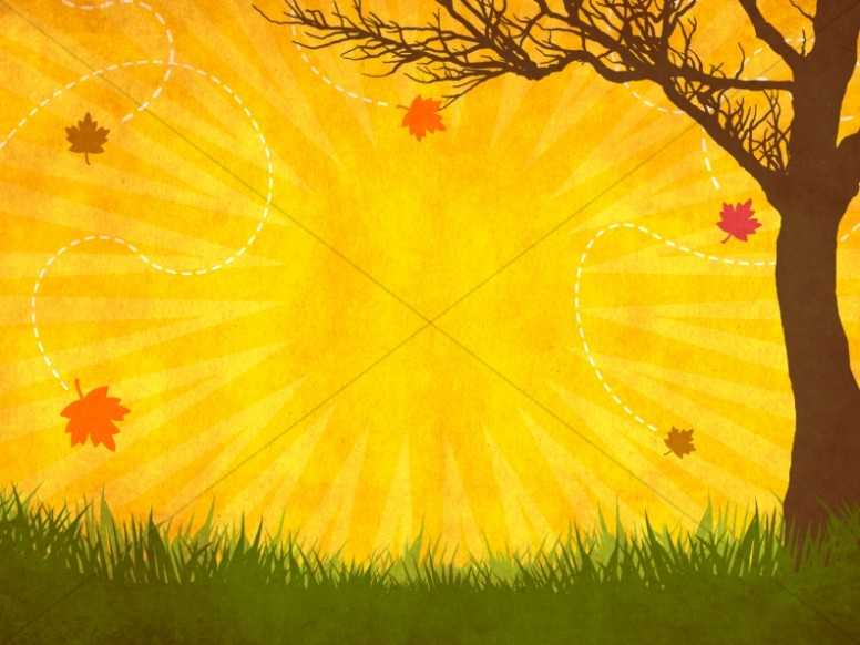 Fall Into Fall Worship Background