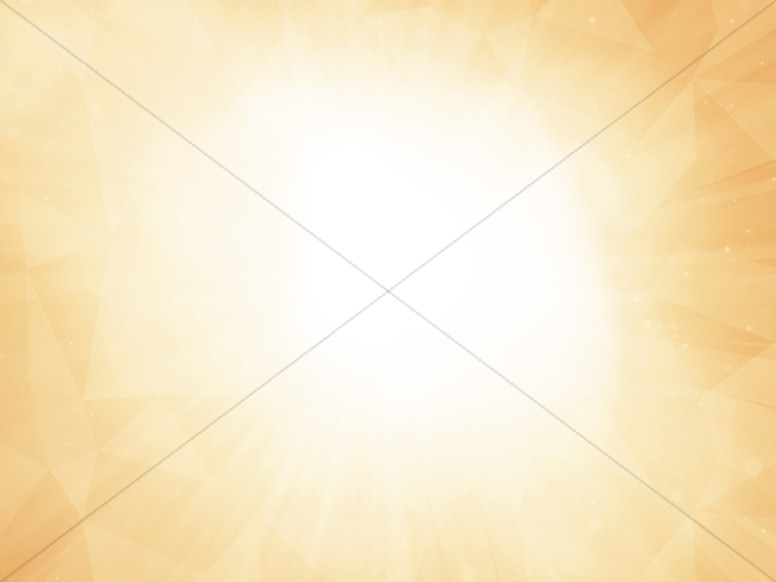 Peach Bright Light Worship Background