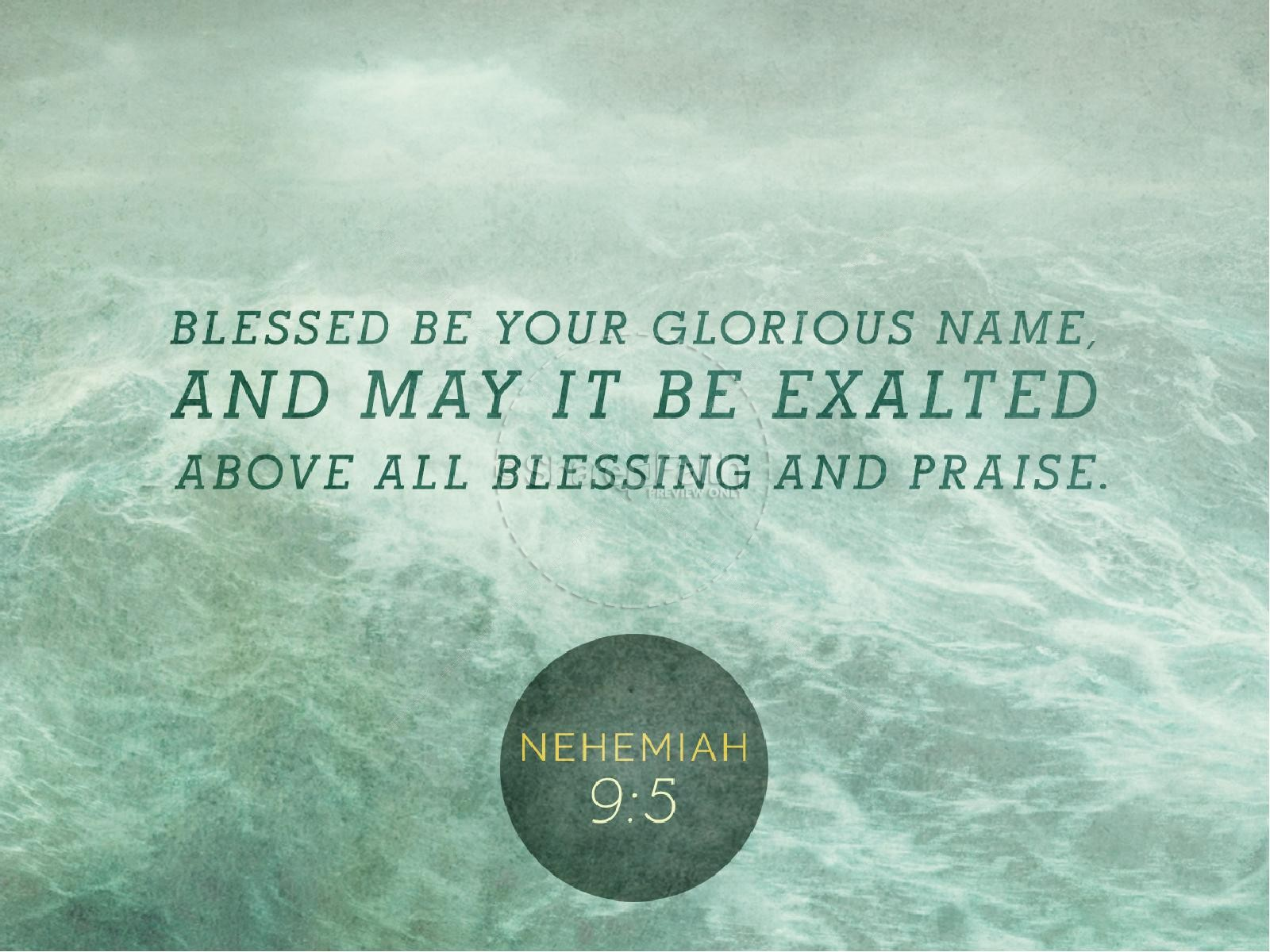 Blessed Be Your Name Powerpoint Powerpoint Sermons
