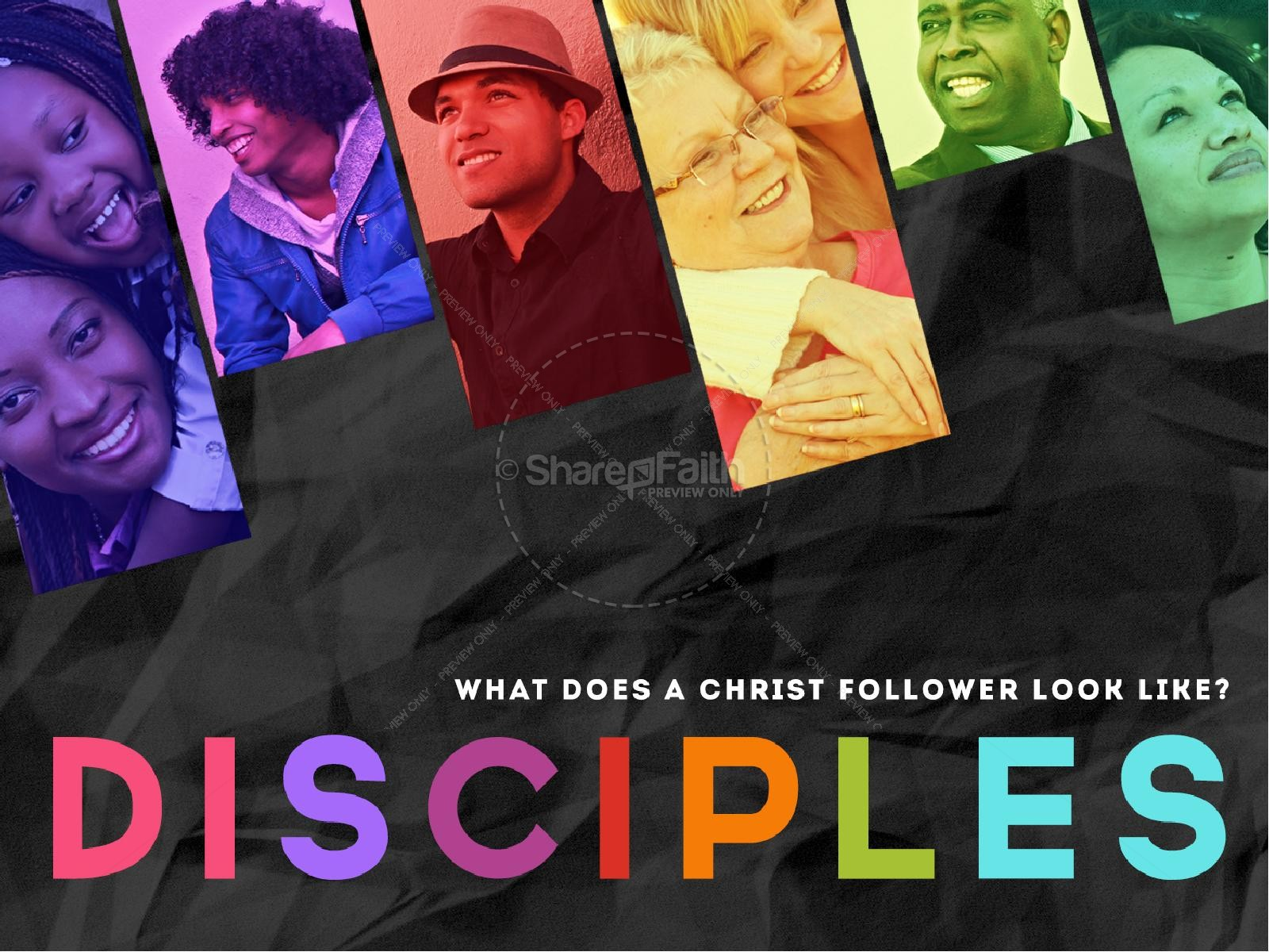 Disciples PowerPoint Template