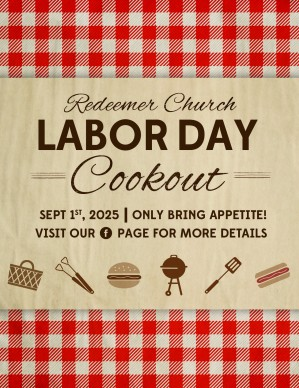 Labor Day Barbecue Flyer Template | Flyer Templates