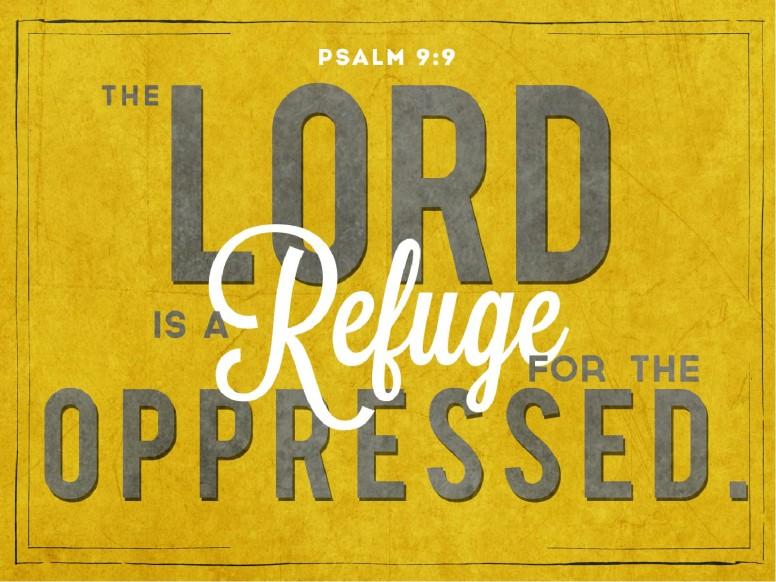 Psalm 9:9 PowerPoint
