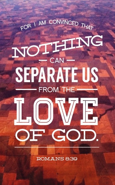 nothing can separate romans 8 39 bulletin cover