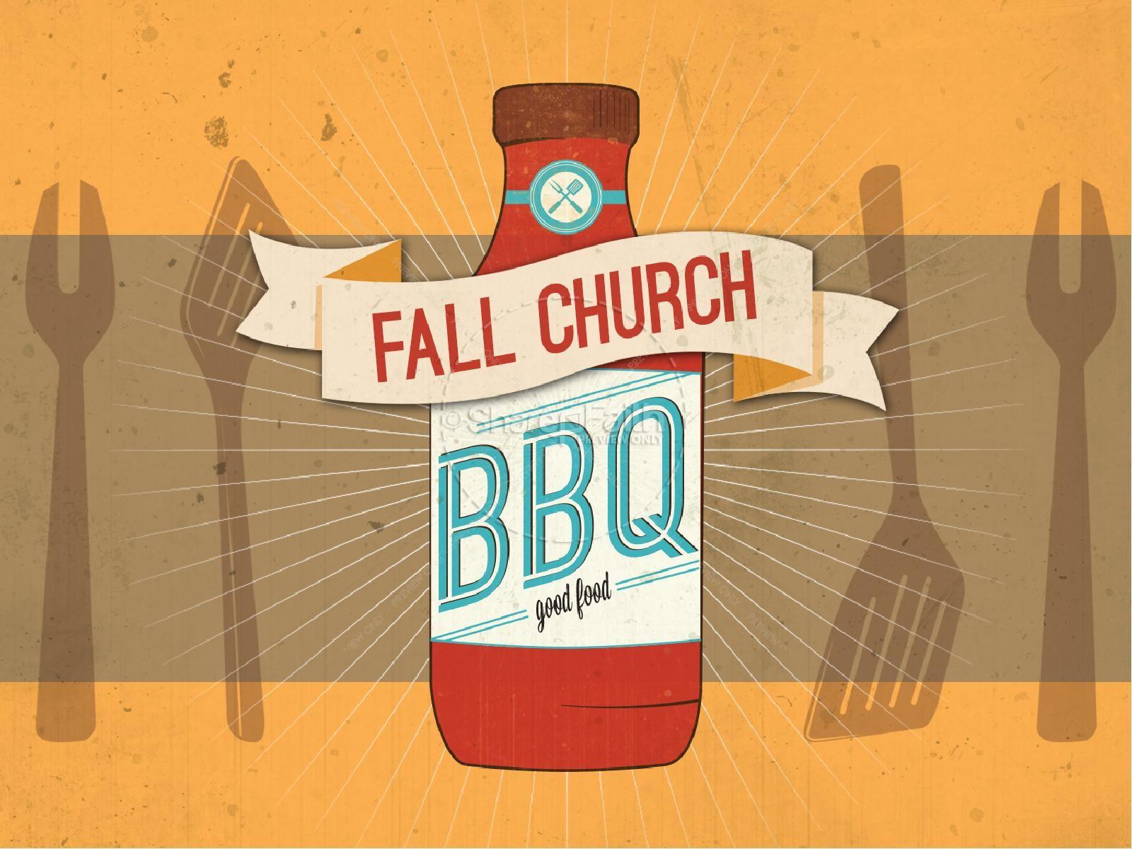 Fall Chuch BBQ PowerPoint