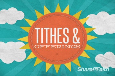 Tithes and Offerings Sunshine Church Loop