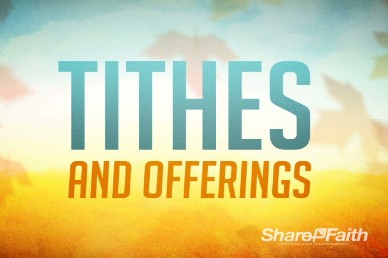 Tithes and Offerings Fall Church Loop