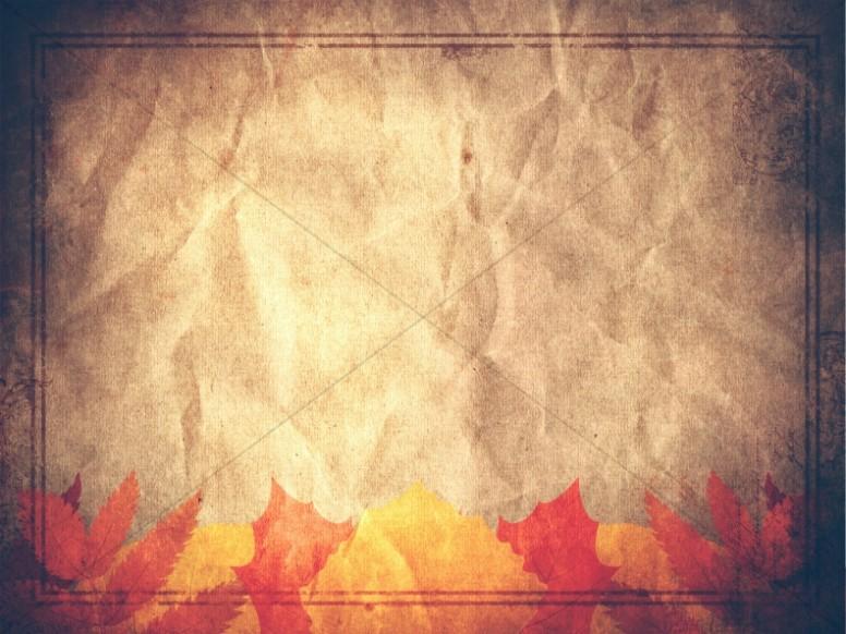 Harvest Festival Fall Worship Slides