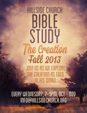 creation bible study flyer template template flyer templates. Black Bedroom Furniture Sets. Home Design Ideas