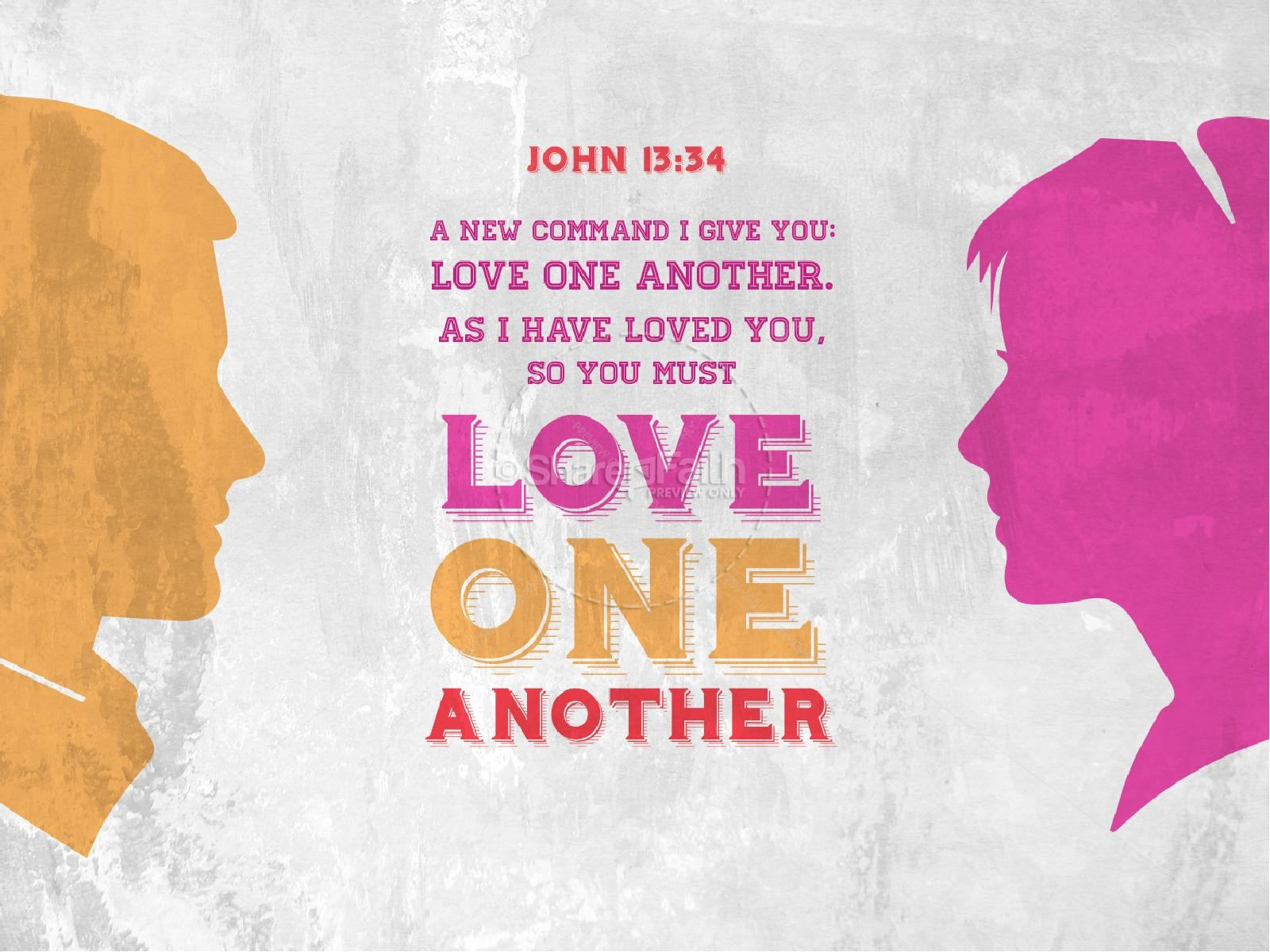 Love One Another Church PowerPoint | slide 3