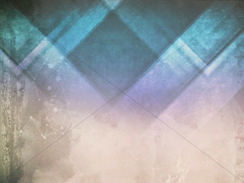 Triangle Cyan Religious Background